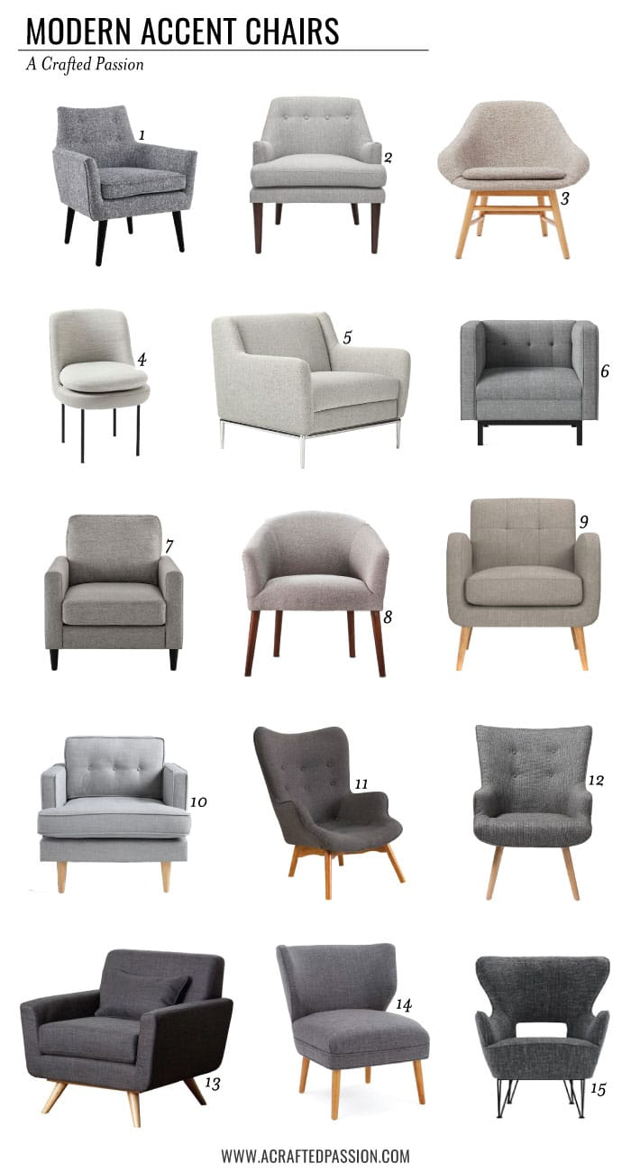 Modern Accent Chairs pin