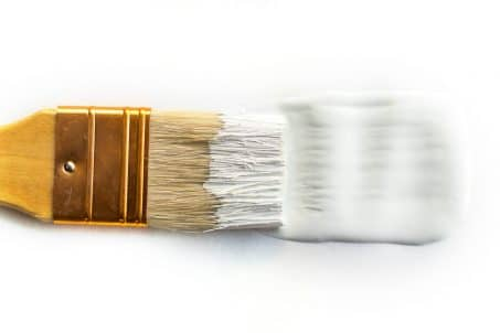 Bright white brush image