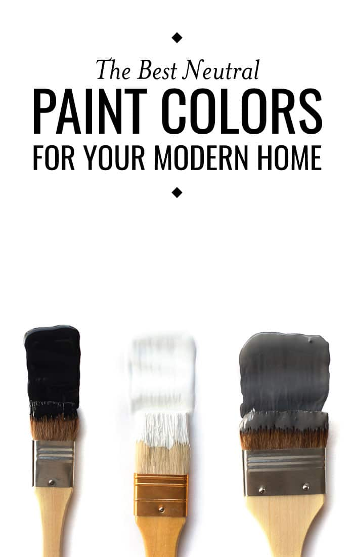These are the best neutral paint colors from Sherwin-Williams! Perfect for any modernbedroom.