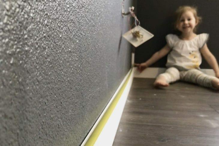 Board and batten measuring walls