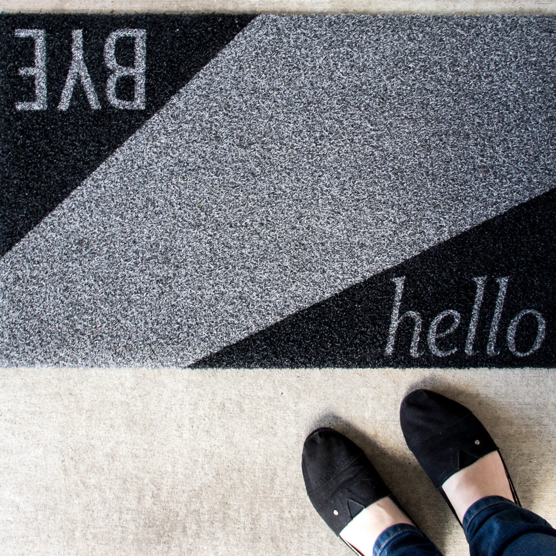 housewarming see a door gift wedding welcome custom outdoor mats you and mat modern hand home nice to welcoming painted hello too doormat pin cute