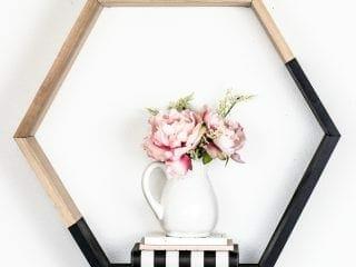 Simple Hexagon Shelf