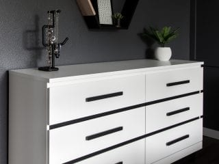 Modern Ikea Malm Dresser Makeover