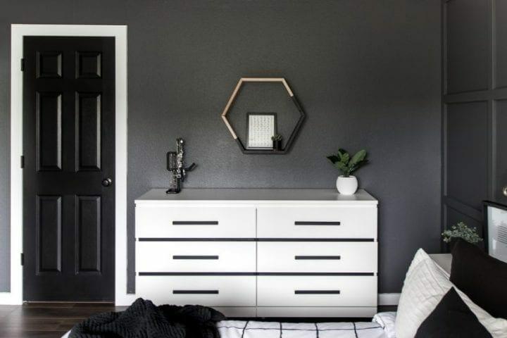 Añadir tiradores a la cómoda Malm de Ikea