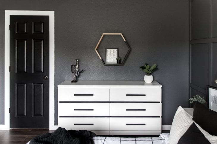 Ikea Malm Beige : Before after ikea malm dresser makeover hack