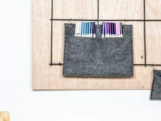 DIY Art Supply Organization for Your Little Artist