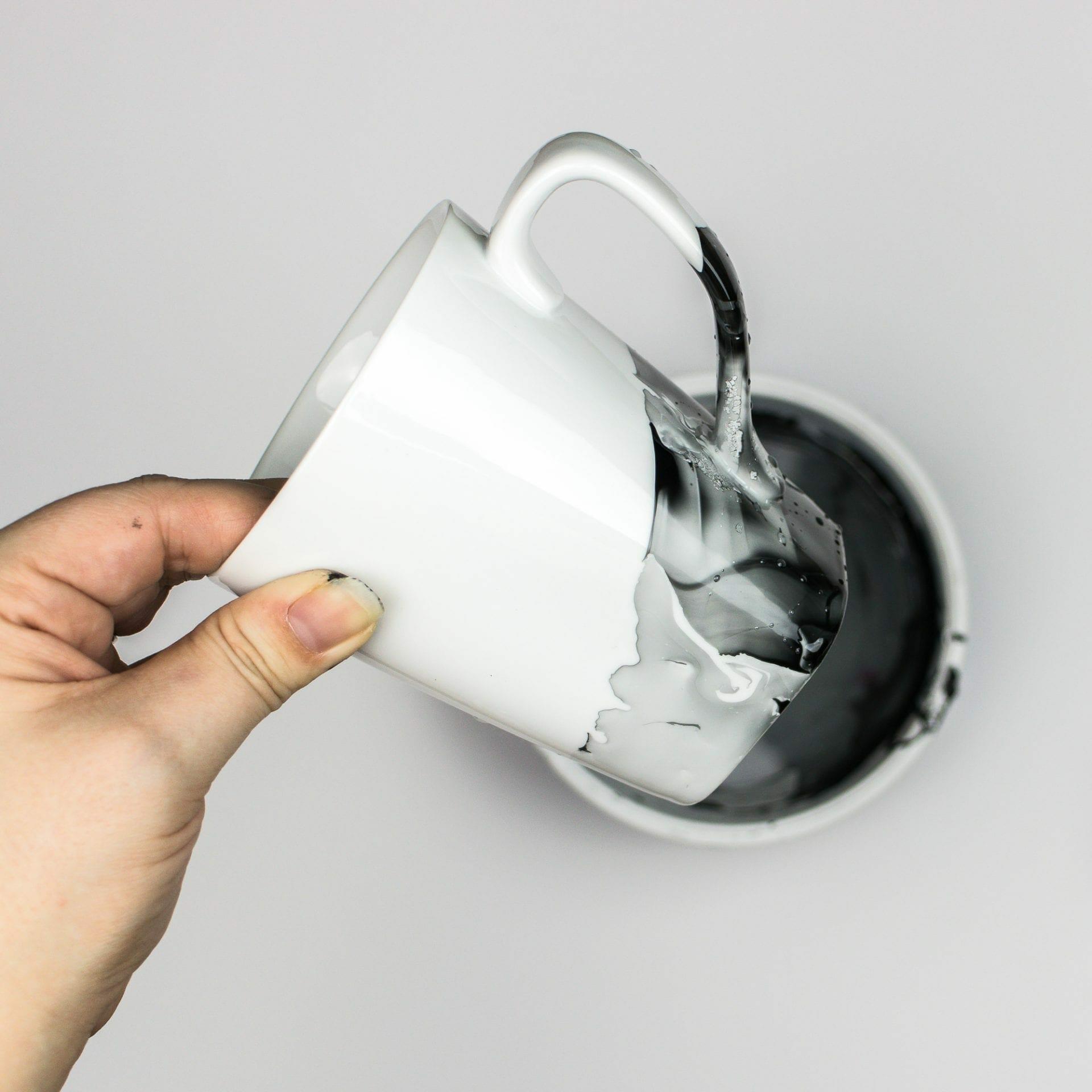 How To Diy Marble Mugs Using Nail Polish Water