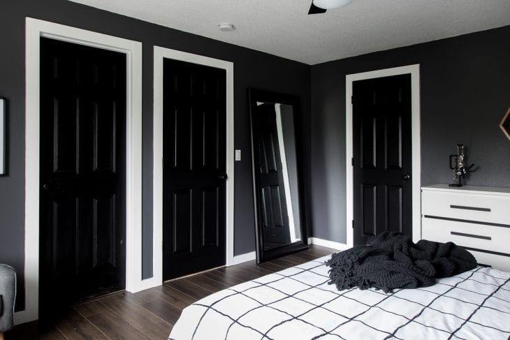Tricorn black doors