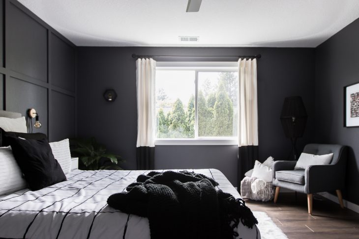 Modern Monochrome Bedroom image