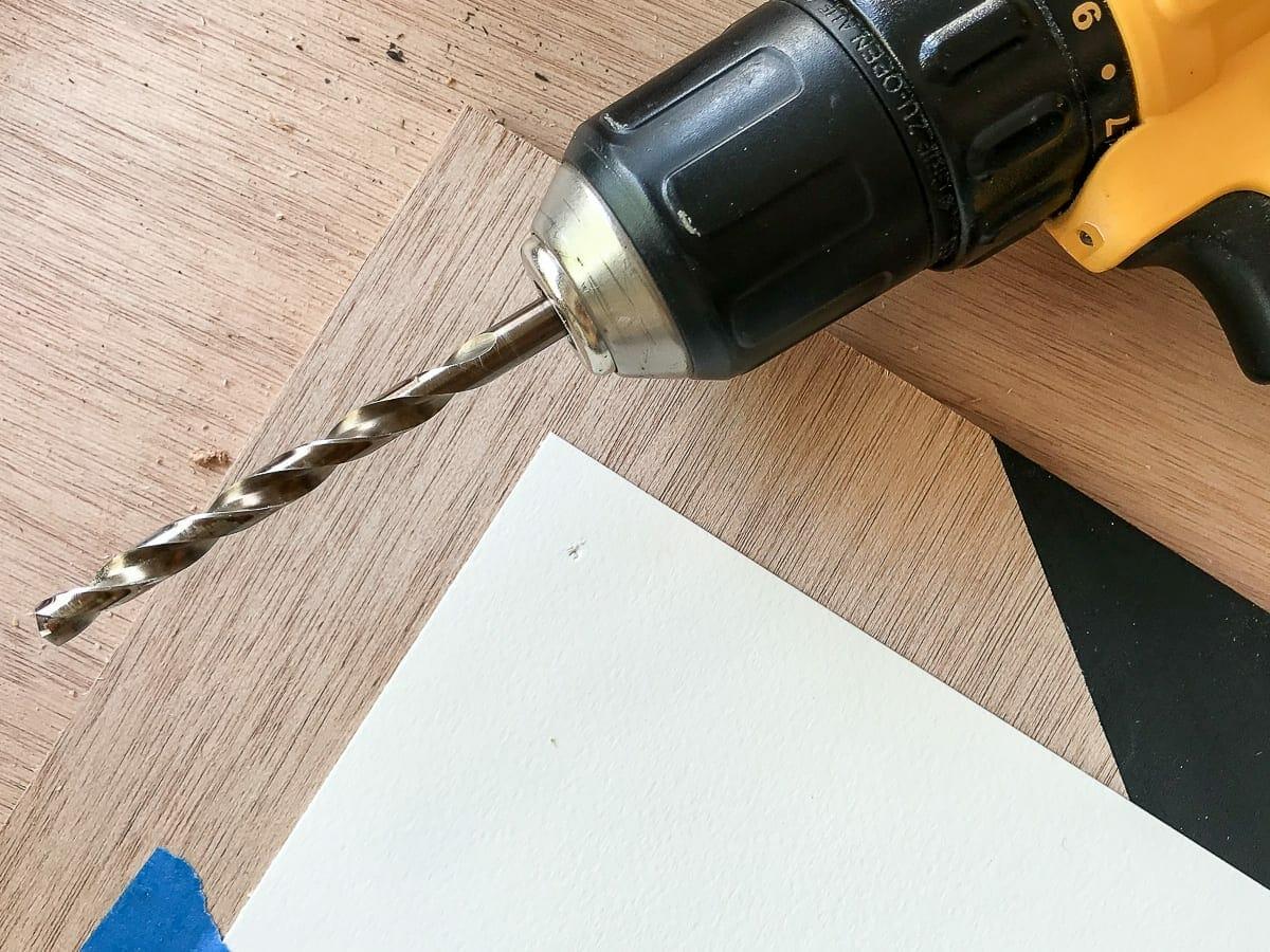 DIY Standoff Mount drill