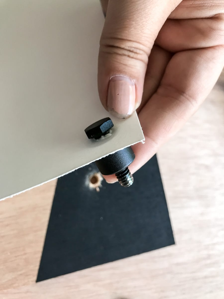 DIY Standoff Mount hardware