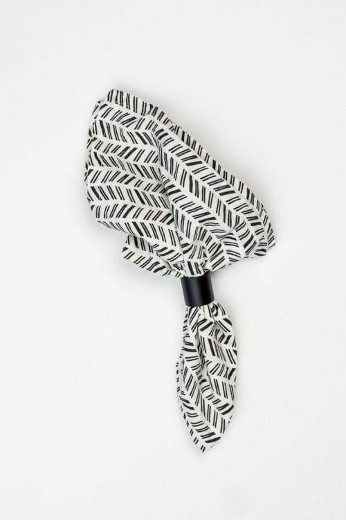 Image of PVC napkin rings.