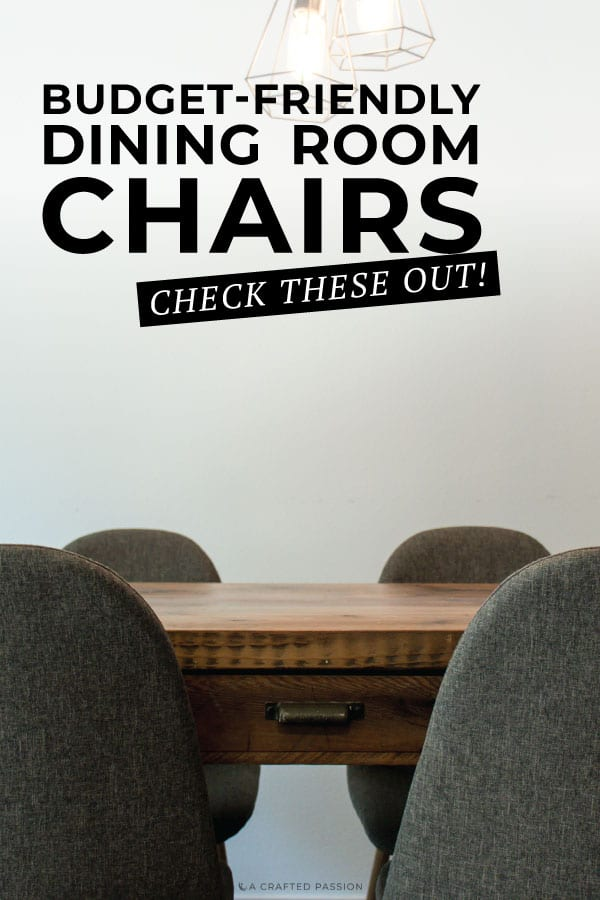Check out the top picks for the affordable modern dining chairs. Look out for quality upholstered chairs on a budget! #diningroomchairs #diningchairs