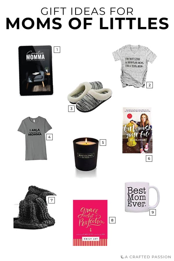 Struggling to figure out what to get the busy mom of littles on your list? Mommas with young kids often put herself last, struggle to find time for herself, and need a reminder to make herself a priority. Check out these gifts for busy moms or dad's...use this gift guide to figure out what to get mom for Christmas this year. #giftideas #giftguide #giftsformom
