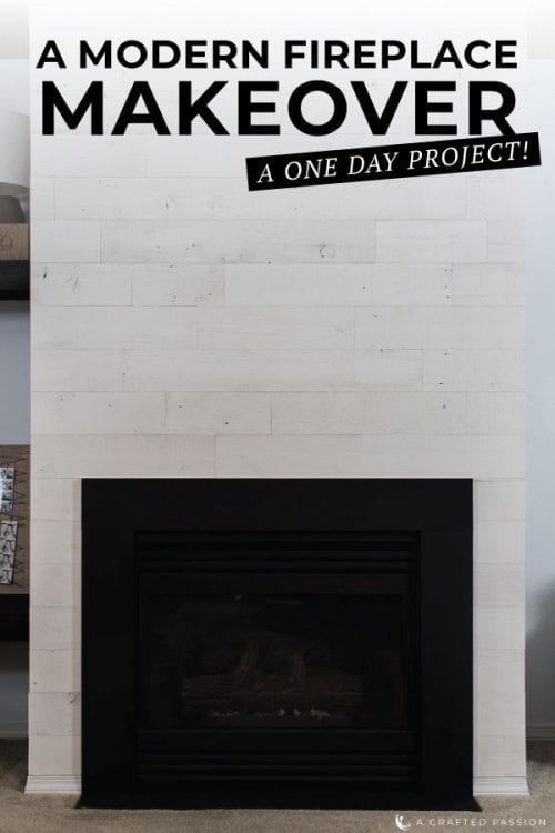 Painting a marble fireplace surround gives you practically instant gratification and update that is so simple and clean. Check out these tips to do yours this weekend! #fireplace #fireplaceupdate #marblefireplace