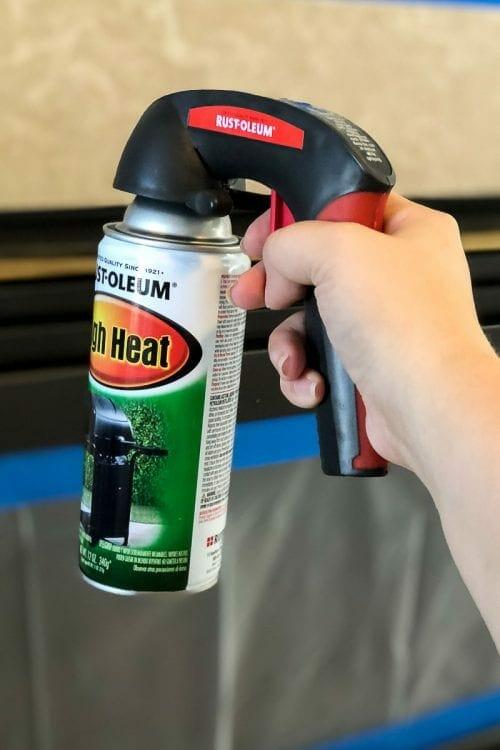Image of high heat spray paint
