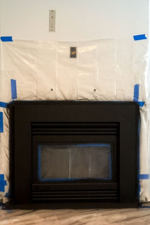 Image of fireplace surround