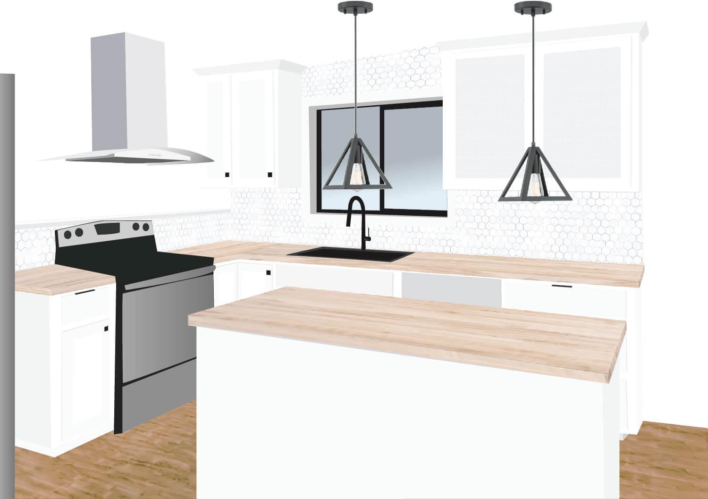 Tremendous Kitchen Makeover Week 2 Black And White Kitchen Ideas Download Free Architecture Designs Intelgarnamadebymaigaardcom